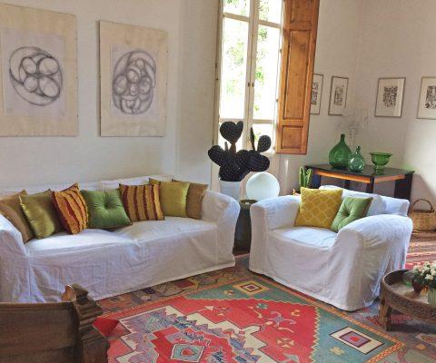 Sofa sala B&B St.Remy